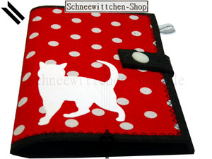Katzenpasshüllen Micki in rot
