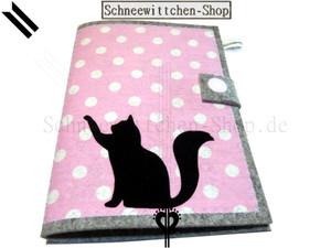 Katzenpasshülle Moritz in rosa