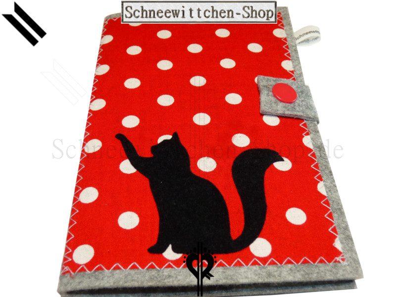 Katzenpasshüllen Moritz in rot