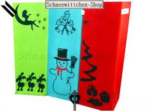 Flaschentasche Das Weihnachs-Tripple