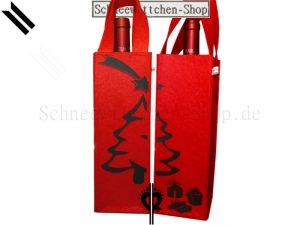 Flaschentasche Weihnachten Geschenke