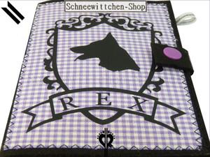 EU-Heimtierausweis Hundepasshülle Rex