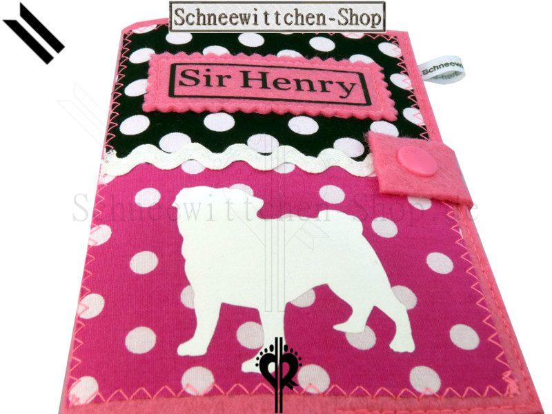 EU-Heimtierausweis Hundepasshülle Sir Henry