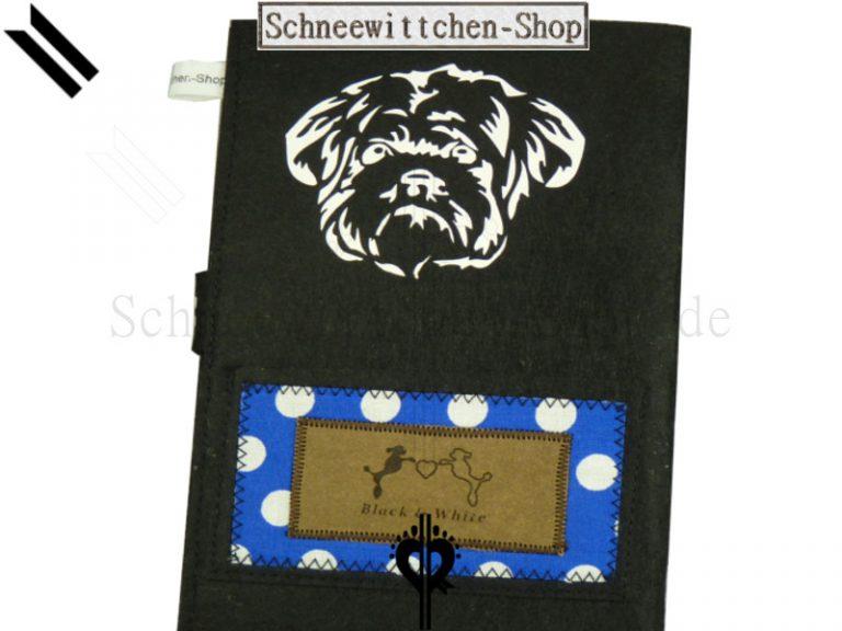 Shih Tzu | EU-Heimtierausweis Hundepasshülle EU-Heimtierausweis Hülle Heimtierausweis Impfpass Hülle Shih Tzu
