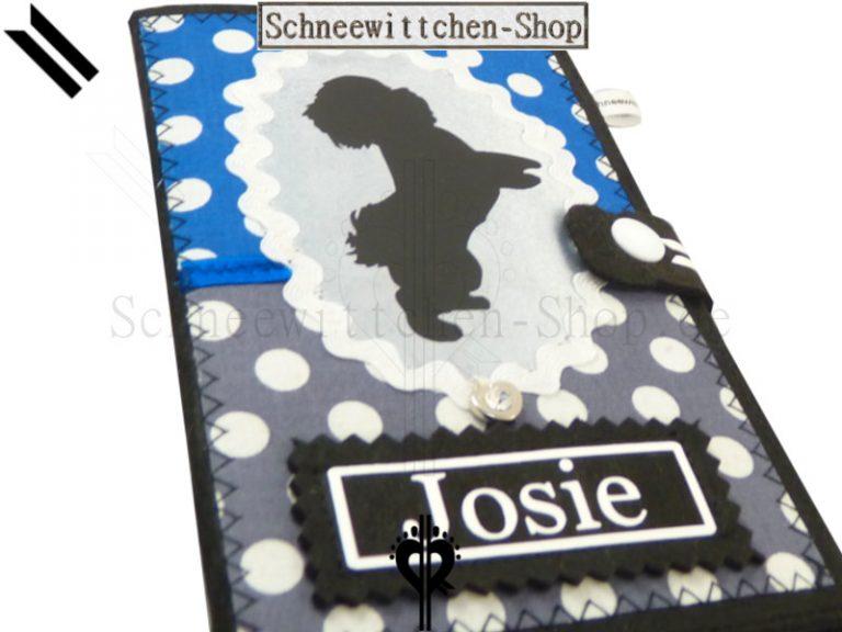 Shih Tzu EU-Heimtierausweis | Hundepasshülle | Tierpasshülle | Impfpasshülle felt case breeder protective cover pett passport individualization dog passport cover vaccination pet accessoire