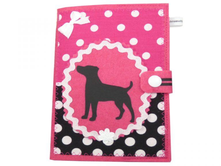 Jack Russell Terrier EU-Heimtierausweis Hundepasshülle EU-Heimtierausweis Hülle Heimtierausweis Impfpass Hülle Tierpasshülle Tierpersonalausweis