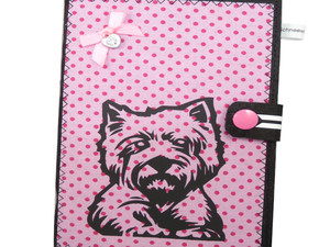 Westie EU-Heimtierausweis Hundepasshülle EU-Heimtierausweis Hülle Heimtierausweis Impfpass Hülle Tierpasshülle Tierpersonalausweis