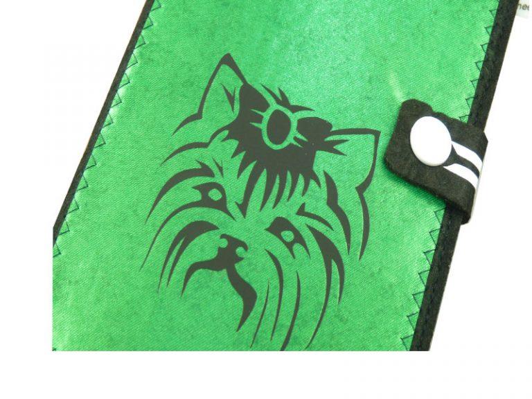 Yorkshire Terrier EU-Heimtierausweis Hundepasshülle EU-Heimtierausweis Hülle Heimtierausweis Impfpass Hülle Tierpasshülle Tierpersonalausweis