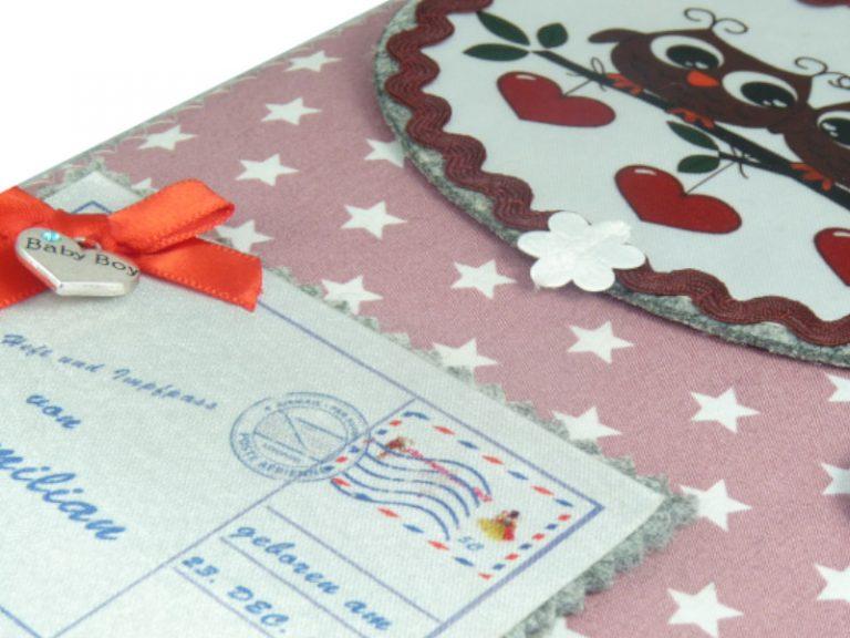 U-Heft Hülle mit Fach für die Versicherungskarte und den Impfpass