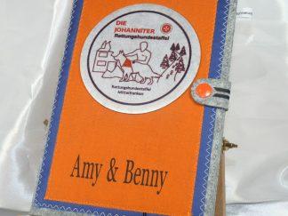 Die Johanniter Rettungshundestaffel Mittelfranken Dienstbuch Hülle A5